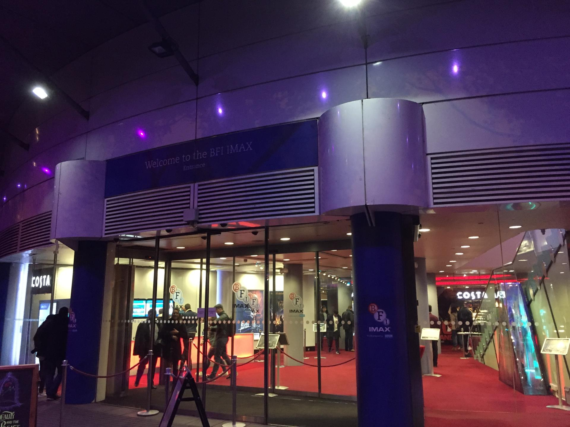 BFI IMAX Entrance.