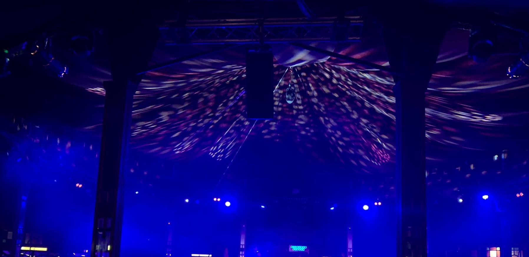 Inside the Speigel Tent