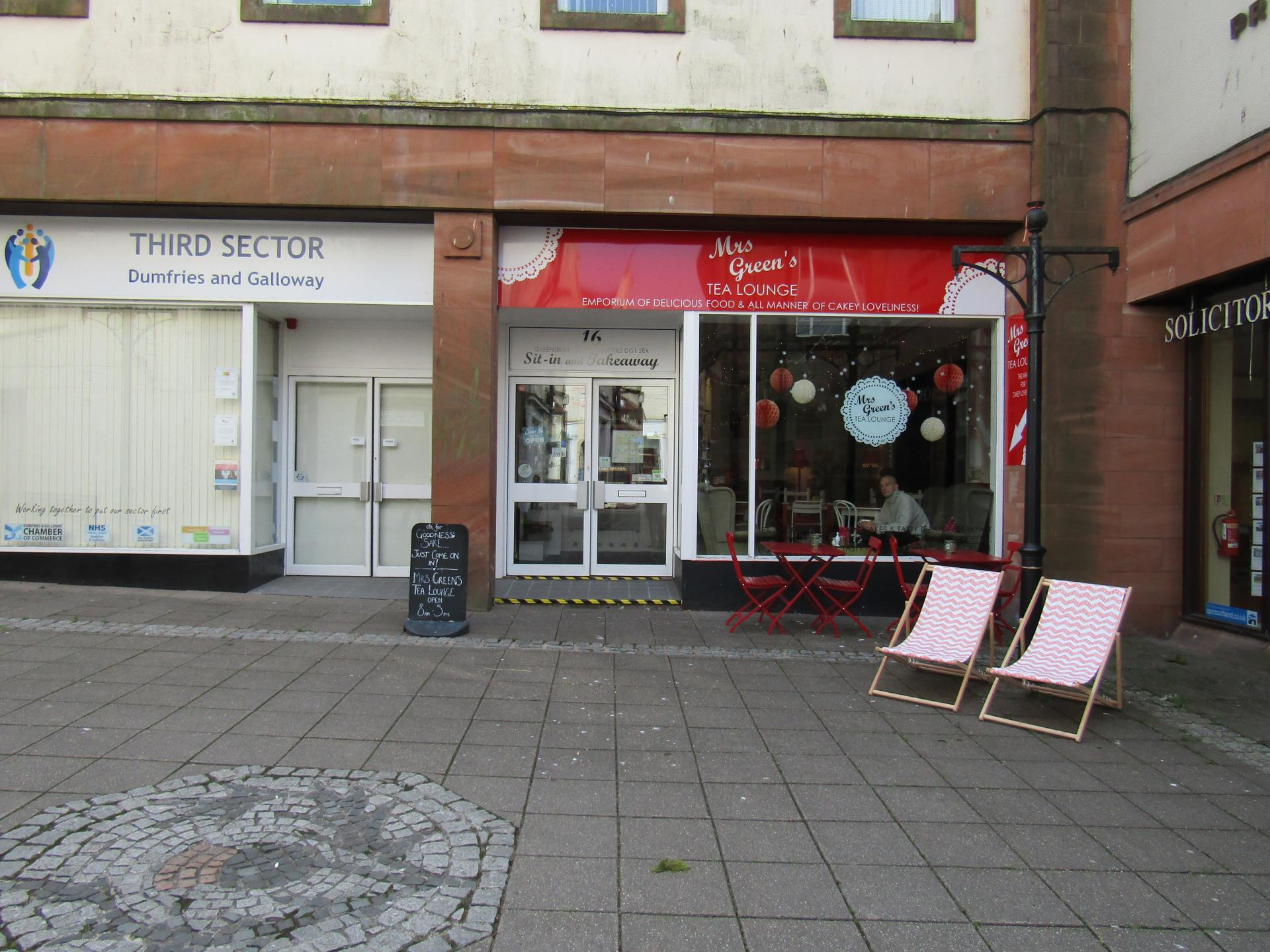 Picture of Mrs Green's Tea Lounge, Dumfries