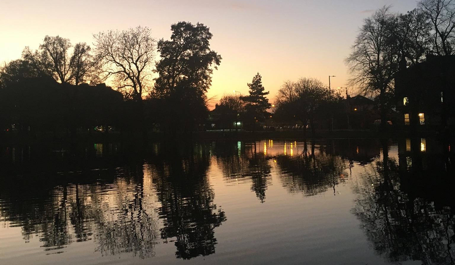 The boating pond