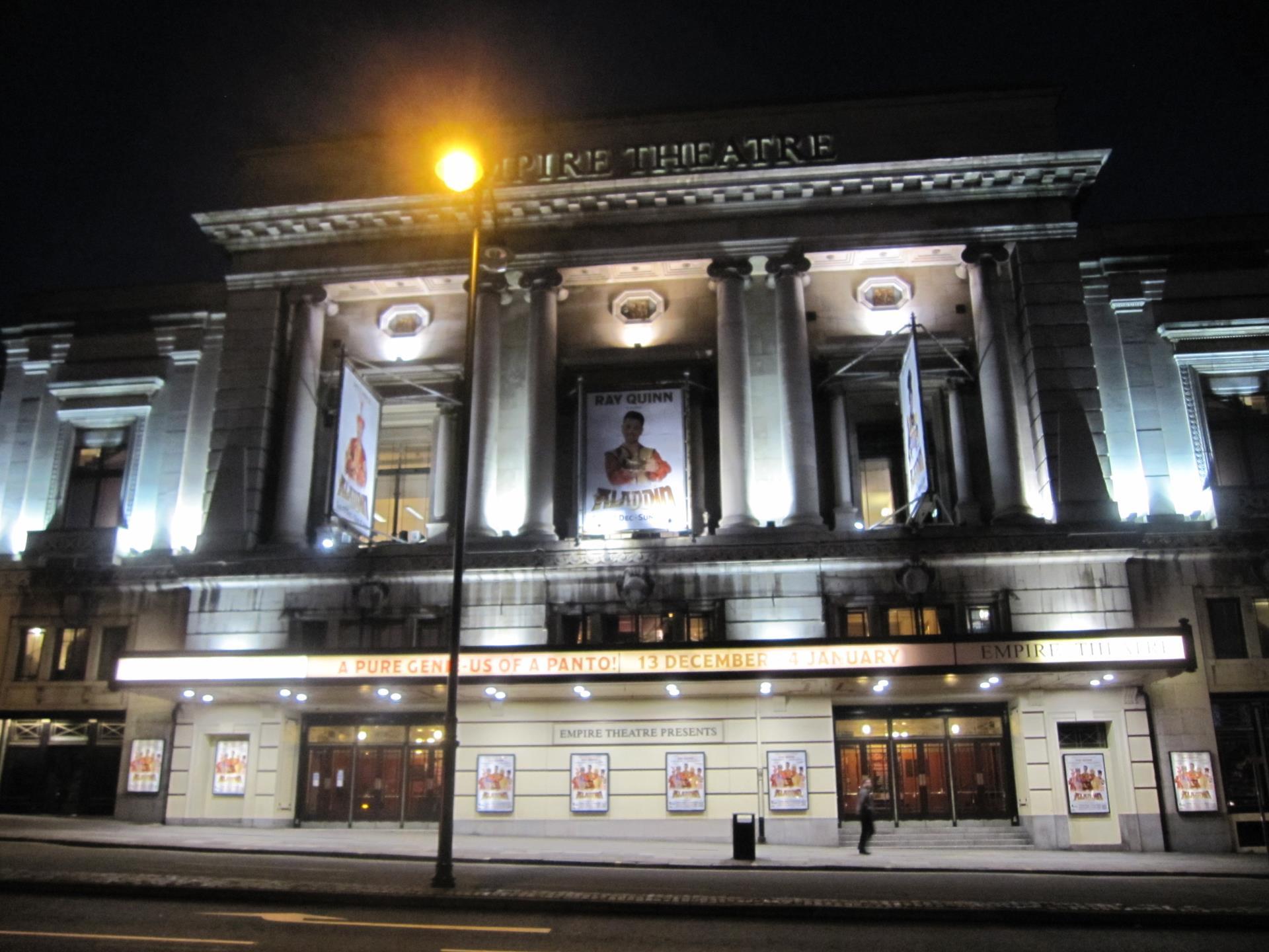 Picture of Liverpool Empire Theatre - Front of Empire Theatre