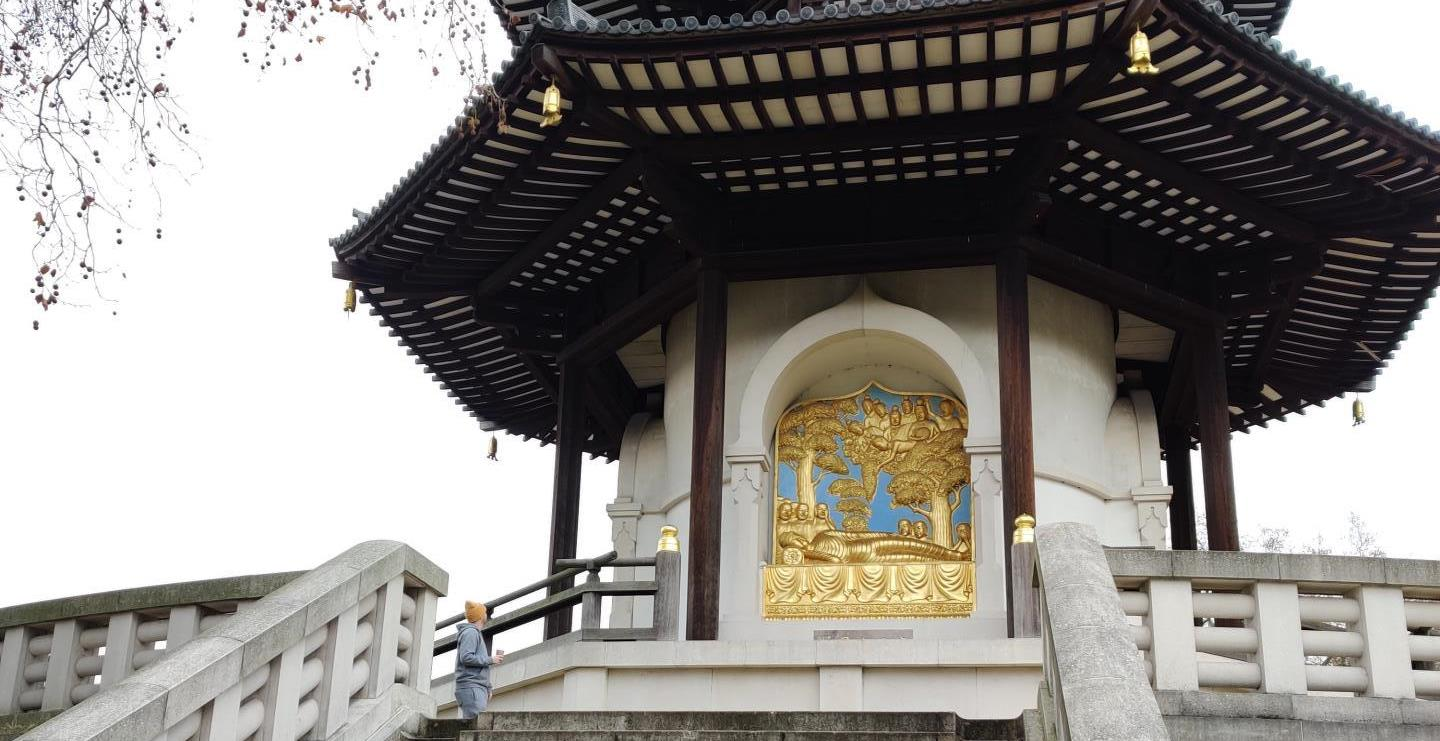 Picture of The London Peace Pagoda, London