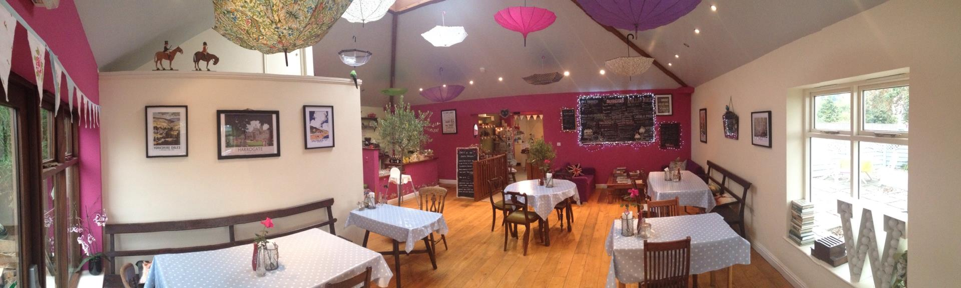Picture of the Purple Partridge - Main cafe area