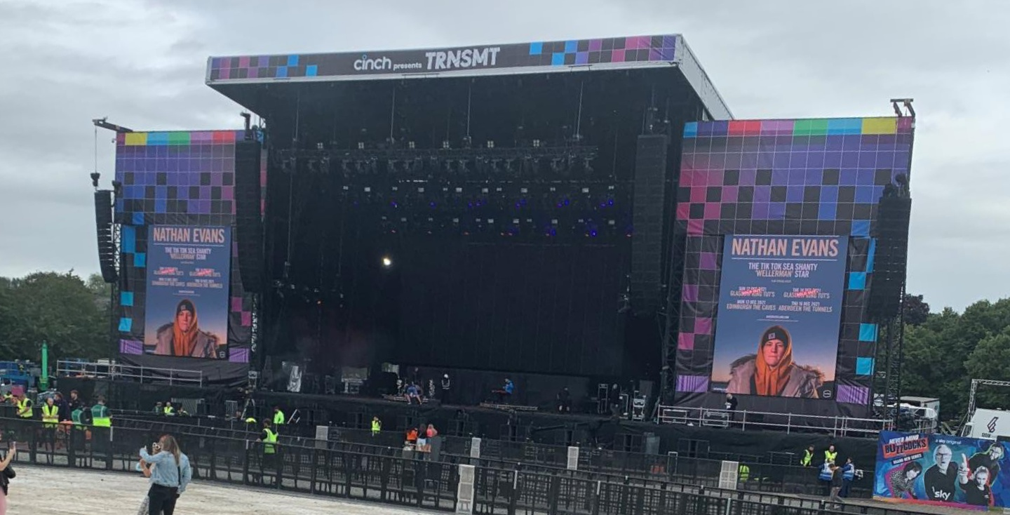 Picture of TRNSMT Festival stage