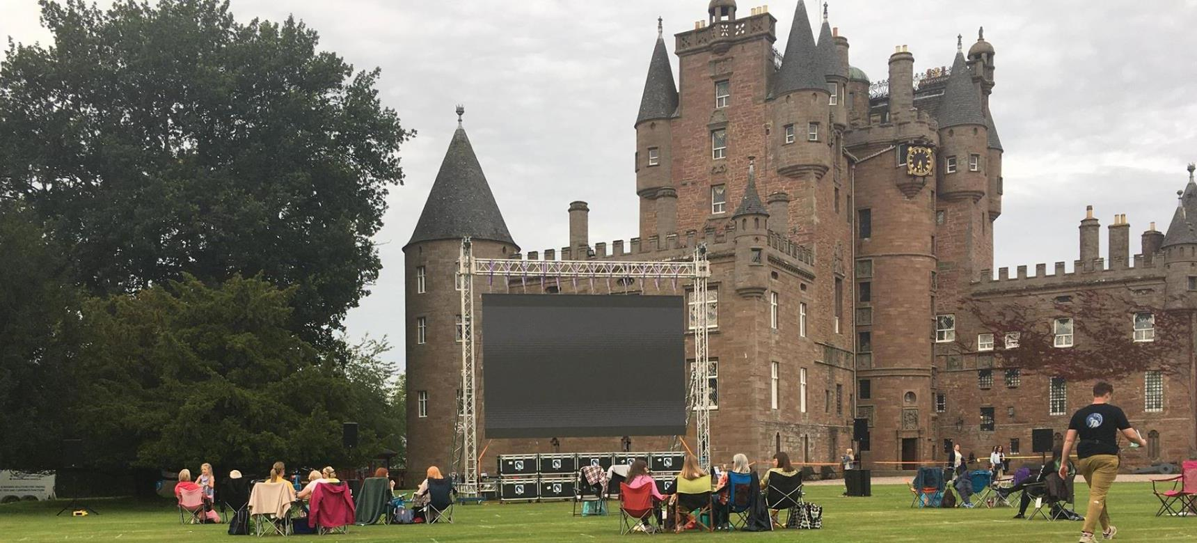 Picture of Glamis Castle - Open air cinema