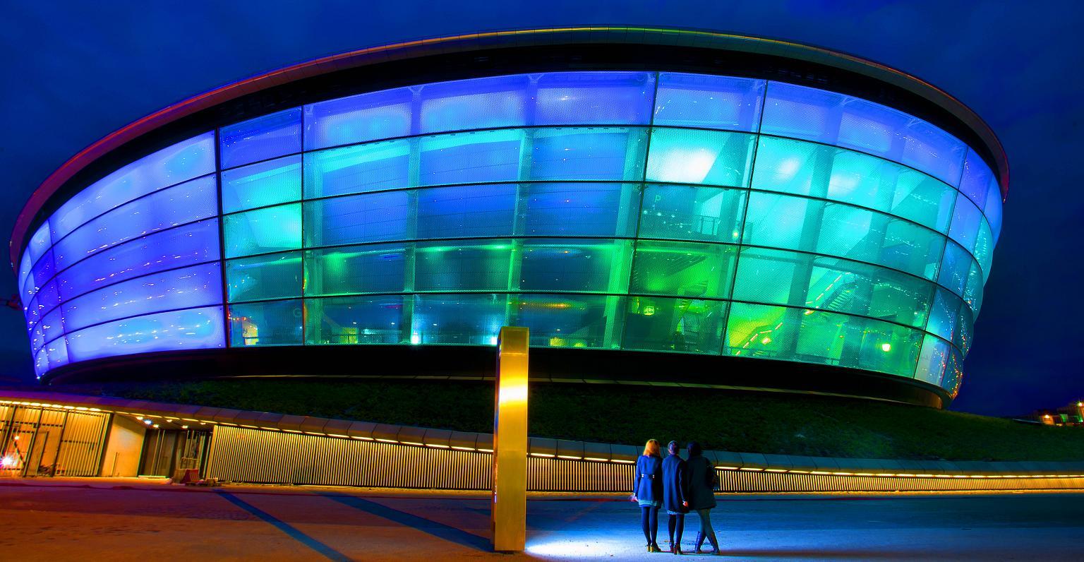 SECC Hydro - Glasgow - Night