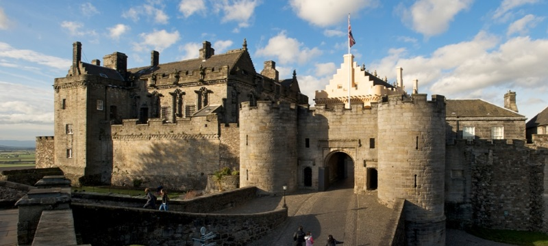 A photo of Stirling Castle