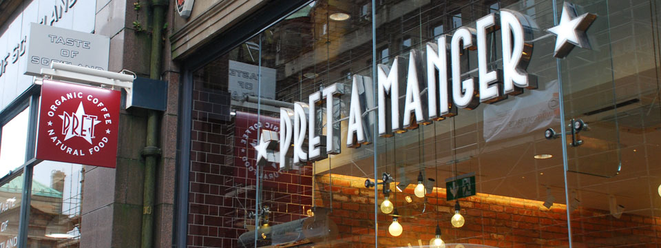 Pret A Manger - Euan's Guide Banner Photo