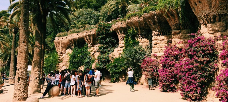Photo of Parc Guell.