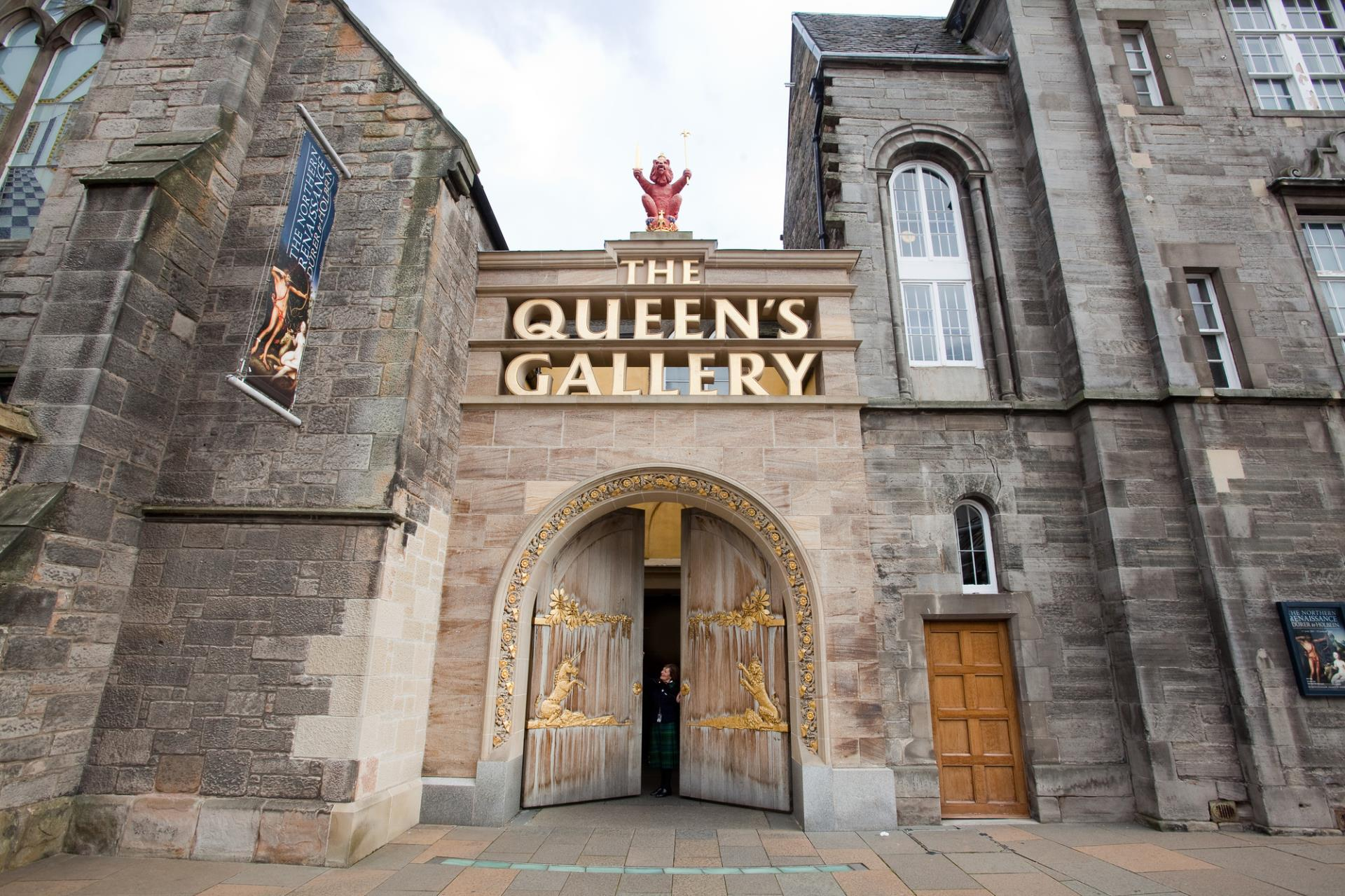 Queens Gallery Holyroodhouse - Front - Edinburgh