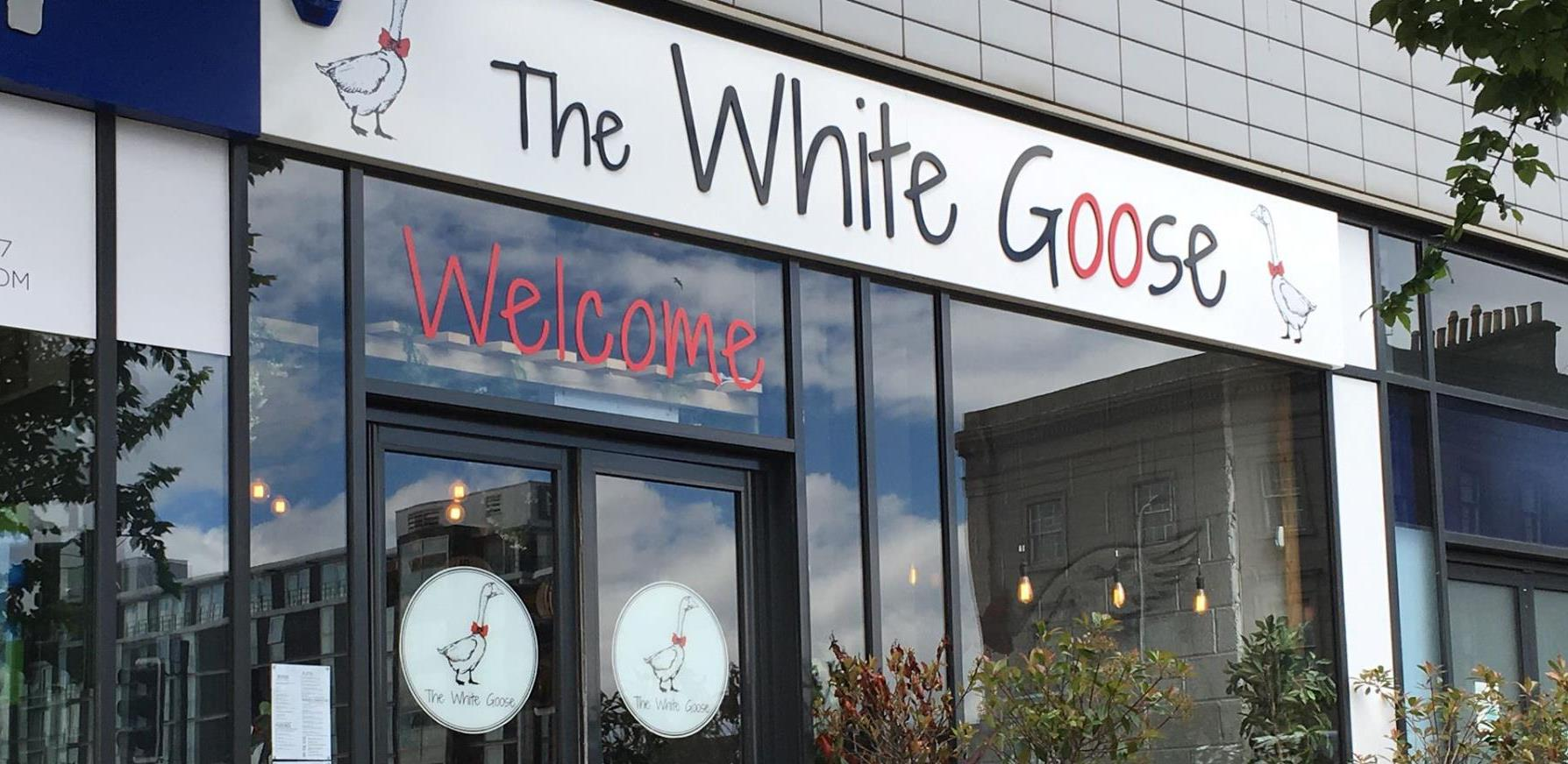 Image of the outside of The White Goose.